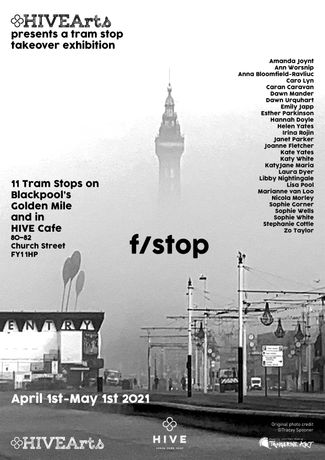f/stop poster. image credit TRACEY SPOONER.