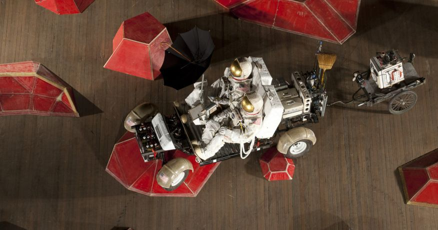 Tom Sachs. Mars Excursion Roving Vehicle (MERV), 2010-2012 mixed media. S/N: 2010.087 Courtesy of the artist