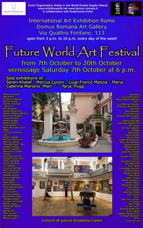 Poster of Future World Art Festival