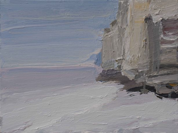 Gao Xiang, Silent Cliffs, 2014, acrylic on canvas, 40 x 30cm