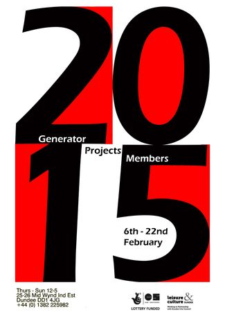 Generator Projects Members Show: Image 0