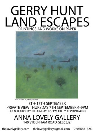 Gerry Hunt Land Escapes Paintings & works on paper: Image 0