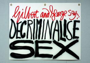 Gilbert & George. The Banners