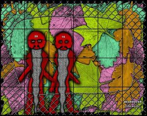 Gilbert & George. THE BEARD PICTURES