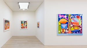 Gillian Ayres: Paintings and Woodcuts