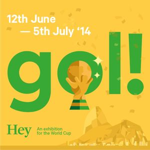 Gol! A World Cup exhibition by Hey