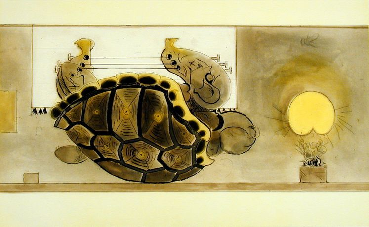 Graham Sutherland  'The Tortoise' (1979) Signed Etching Aquatint
