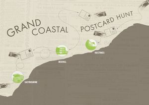 Grand Coastal Postcard Hunt