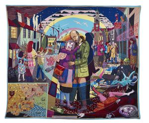 Grayson Perry, In its Familiarity Golden, 2015 © Grayson Perry. Courtesy the artist, Paragon | Contemporary Editions Ltd and Victoria Miro, London