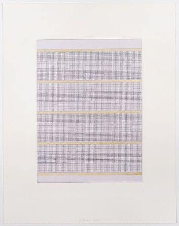 Frank Badur, untitled, 2014, 46x36cm, gouache and pencil on paper