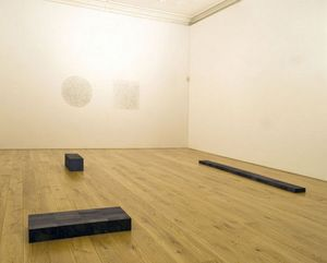 Group Show: Carl Andre, Bernd and Hilla Becher, Sol LeWitt and Bridget Riley