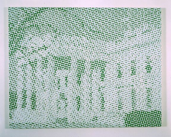 Wayne Gonzales Untitled, 2003 acrylic on canvas 41 x 52 inches (104.1 x 132.1 cm). © Wayne Gonzales. Courtesy Paula Cooper Gallery, New York.
