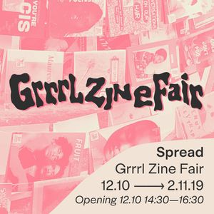 Grrrl Zine Fair — Spread