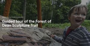 Guided tour of the Forest of Dean Sculpture Trail