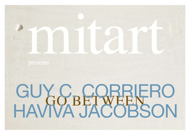 Guy C. Corriero, Haviva Jacobson. Go between