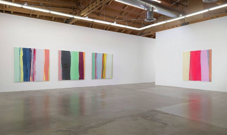 Yunhee Min,  Wilde Paintings Installation view, Susanne Vielmetter Los Angeles Projects, April 28—June 1, 2018