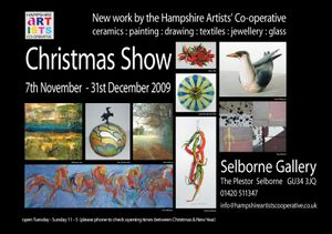 Hampshire Artists' Co-operative - Christmas Show