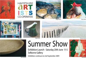 Hampshire Artists' Co-operative - Summer Show