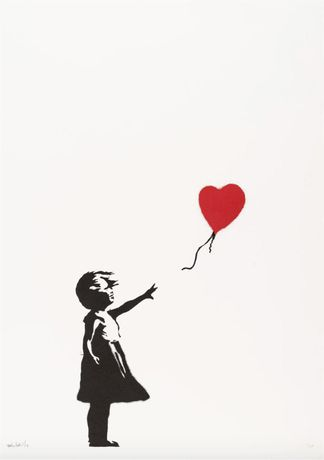 Banksy - Girl With Balloon (Signed)