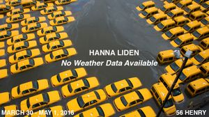 Hanna Liden. No Weather Data Available