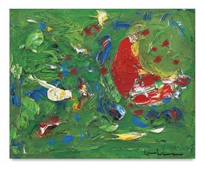 Tropic, 1945, Oil on panel, 22 x 26 1/2 inches, 55.9 x 67.3 cm, AMY#16247