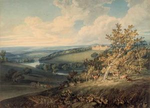 Harewood Masterpieces; works by Turner, Girtin and Varley