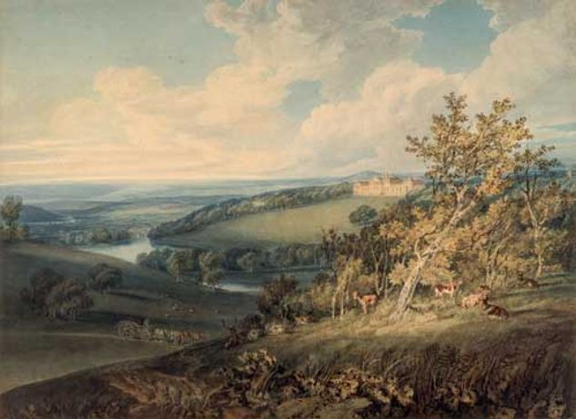 Harewood Masterpieces; works by Turner, Girtin and Varley: Image 0