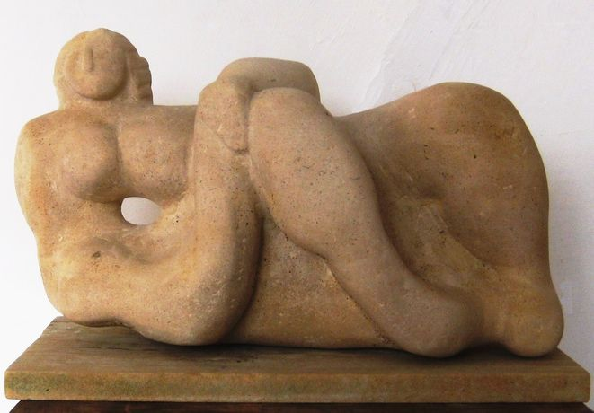 Reclining figure III - Gordon Adams