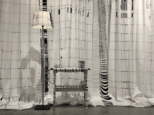 Hedwige Jacobs, Installation of Woven Living Room
