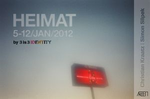 HEIMAT - photography exhibition by 3is3Identity
