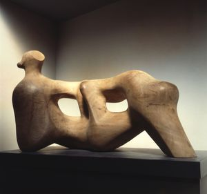 Henry Moore (1898-1986), Reclining Figure Holes, 1976-78, The Henry Moore Foundation Gift of the artist, 1977 © The Henry Moore Foundation 2016