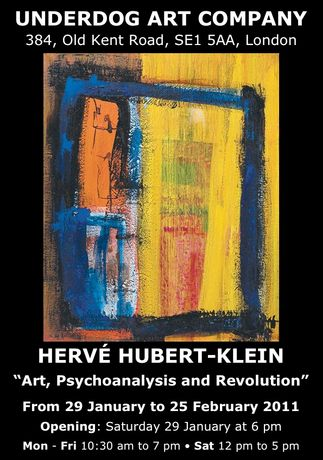 HERVE HUBERT-KLEIN   Art, Psychoanalysis and Revolution!: Image 0