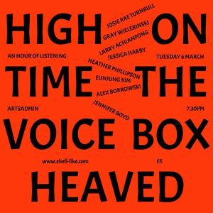 High On Time The Voice Box Heaved