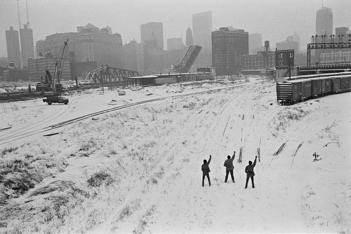 Black Panthers, Chicago, 1969 © Hiroji Kubota/Magnum Photos