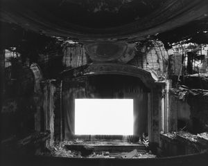 Paramount Theater, Newark, 2015 Gelatin silver print, Neg. #36.002, 47 x 58 3/4 in. (119.4 x 149.2 cm) Ed. of 5