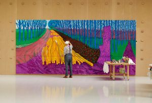 Hockney At The Royal Academy
