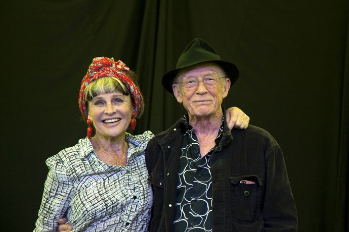 The Prize will be awarded by Sir John Hurt, seen here with Julie Christie who is also appearing at Holt Frestival