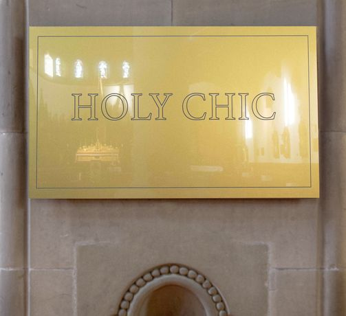 Holy Chic, WESSIELING, 2016; Photo: Michael Gordon