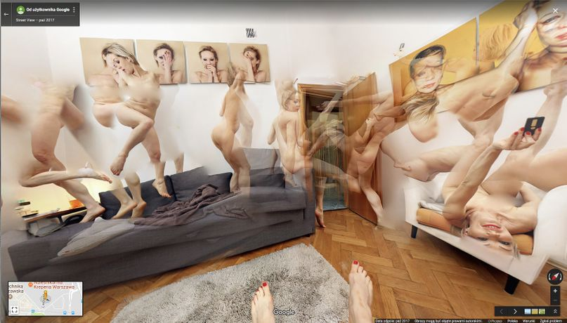 THE NUDE WHO WENT DOWN THE STAIRS, NOW IS DANCING IN THE ROOM (2017), Agata Zbylut