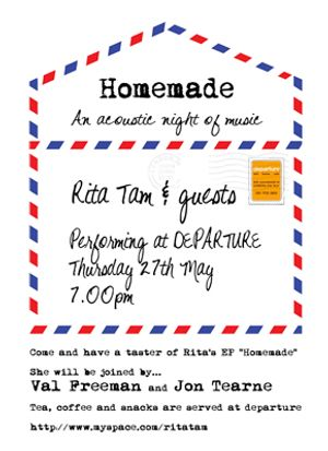 home made - an acoustic night of music