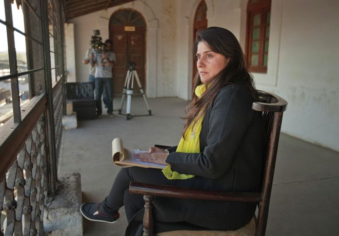 Photo: Sharmeen Obaid-Chinoy in Karachi, Pakistan, January 2017 © Nadir Siddiqui