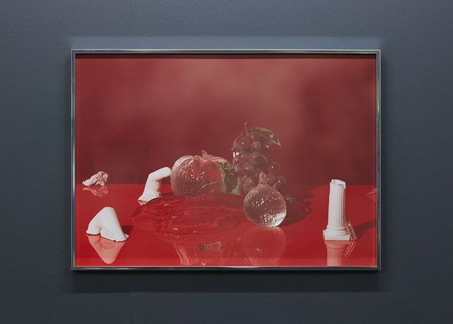 Jelly Black Cherry, 2015.  Installation view, Block 336