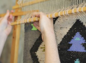 Hotwalls Studios: Recycled weaving with Alice Hume
