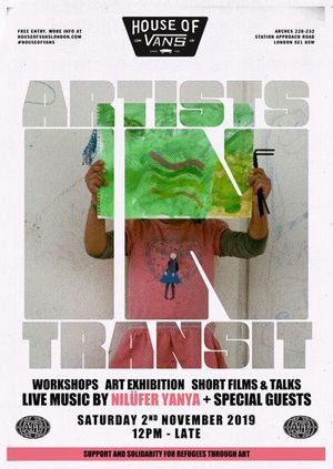 House of Vans London presents: Artists in Transit