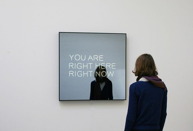 Jeppe Hein: YOU ARE RIGHT HERE RIGHT NOW, 2012, Courtesy KÖNIG GALERIE, Berlin, 303 Gallery, New York, Galleri Nicolai Wallner, Copenhagen, Foto / Photo: Studio Jeppe Hein