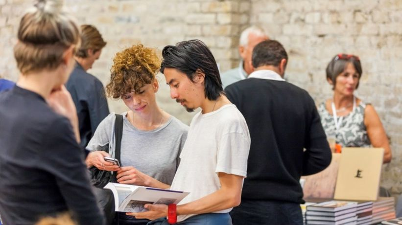 London Art Book Fair, 2015; Whitechapel Gallery. Photo: Dan Weill