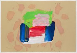 Howard Hodgkin, Ice Cream, 2016. Courtesy artist and Alan Cristea Gallery, London
