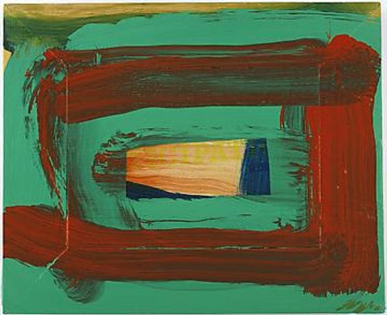 HOWARD HODGKIN: SEVEN NEW PAINTINGS: Image 0