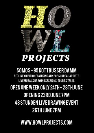 Howl Projects Group Exhibition and Live Events: Image 1