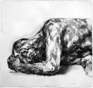 Human Presences: New Drawings and Monotypes by Alison Lambert